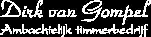 Logo Dirk van Gompel (Wit)